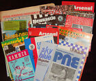 Manchester Utd Away Programme's 1977/78  Div 1 FL Cup + FA Cup