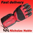 RST ALPHA II WP 1886 WATERPROOF LEATHER AND TEXTILE TOURING GLOVE RED