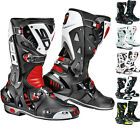 SIDI VORTICE VENTED RACE TRACK SPORTS BIKE MOTORCYCLE MOTORBIKE ROAD BOOTS