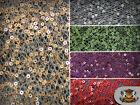 """Sequin STRANDS SPIDER MESH Fabric / 51"""" Wide / Sold by the yard"""