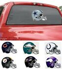 Choose Team Big Window Cling NFL New 11 x 14 Logo Sign Reusable Ships Priority