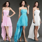 Chiffon Party Women chiffon cocktail Evening Bridesmaid Prom Dress Size 6 8 10