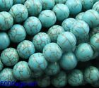 wholesale 100Pcs Round Loose Turquoise Charm Spacer beads Jewelry 6mm
