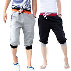 Men's Casual Sport Rope Short Pants Jogging seven Trousers Graceful Shorts