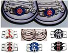 CHOOSE TEAM 2 Pack Shoe Charm OFFICIAL LICENSED MLB New Metal Jewelry Boot Lace