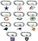 CHOOSE TEAM ID Bracelet New NFL Official Licensed 8.5in Heavy Metal Men or Women