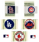 CHOOSE TEAM Money Clip Credit Card Holder New Official MLB Quality Metal