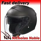 SHOEI J-CRUISE OPEN FACE PINLOCK READY URBAN MOTORCYCLE HELMET MATT BLACK