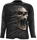 Spiral Direct CAST OUT long-sleeve t-shirt/top biker/tattoo/skull/goth/horror