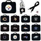 CHOOSE TEAM Computer Laptop Case NFL Notebook Bag Handle And Shoulder Strap 15in
