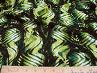 Discount Fabric Challis Rayon Jungle Abstract pattern 05CH