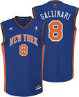 Adidas NBA Men's New York Knicks Gallinari #8 Replica Jersey - Blue