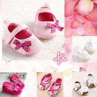 New 24 Mixed-Style Baby Girls Soft Crib Shoes 3 Size Age 0-18 Months