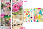 UN DATED DIARY OPEN JOURNAL WITH PEN  SPIRAL BOUND COVER - IN CHOICE OF DESIGN