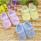 Baby Infant Toddler's Unisex Soft Sole Skid-proof Shoes B20E  0-12 Months Cute