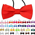 Men Boys Kids Children Pre tied satin bowties bow ties