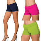 Plus Size One Size 1X2X or 3X4X Roxie Hot Shorts Pink, Green or Blue   DG4575X