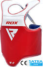 RDX MMA Boxing Chest Guard Protector Body Armour Training Kickboxing Sports R/B
