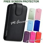 FLIP CASE POUCH PU LEATHER COVER FOR SAMSUNG GT-I9070 GALAXY S ADVANCE + SP