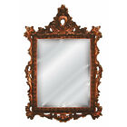 French Ornate Frame Beveled Wall Mirror Antique Reproduction ~ Choice of Finish