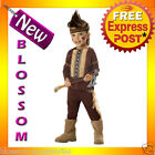 CK61 Lil  Warrior Indian Native Boys Toddler Child Fancy Dress Up Party Costume