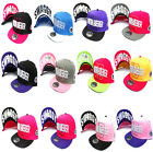 CHILDRENS KIDS GIRLS JUSTIN BIEBER JB DIAMOND SWAG SNAPBACK BASEBALL CAP HAT