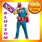 C226 The Simpsons Duffman Duff Man Beer Classic Muscle Mens Adult Costume