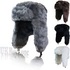 NEW Russian Trapper Cossack Ushanka Faux Fur Winter Ski Hat Ladies Mens Unisex