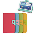 "Colored Folio PU Leather Case Cover Stand for Samsung Galaxy Tab 3 7.0"" 7"" P3200"