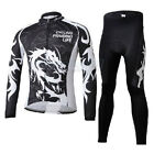 Dragoon Fleece Thermal Winter Cycling Bike Clothing Long Sleeve Jersey + Pants