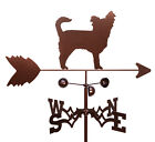 SWEN Products LONG HAIR CHIHUAHUA DOG Steel Weathervane