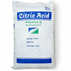 Anhydrous Citric Acid 250g 500g 1Kg 2Kg 5Kg 10Kg 25Kg Food Grade Bath Bombs