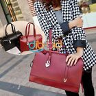 Women Beauty Shoulder Tote PU Leather Handbag Large Bags Classic Celeb Hobo