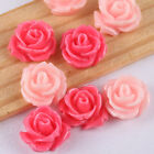 30pcs Mix colors Loose Flower Charm Acrylic Plastic Beads Kp2578