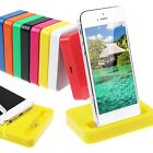Dock Station Desktop Date Sync Charger Stand Cradle Mount for Apple iPhone 5 5G