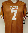NEW Youth Kids NIKE Texas LONGHORNS NCAA #7 Rust Football Jersey