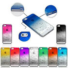 ULTRA THIN 3D AQUA WATER RAINDROP CRYSTAL SERIES BACK CASE COVER FOR IPHONE 5 5S