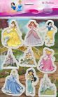 New Fairytales and Castles Disney Princesses Raised Relief Sticker