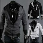Hot Assassin's Creed 3 Desmond Miles Hoodie Costume Coat Jacket Cosplay Hoody