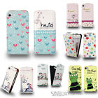 STYLISH FLIP CASE COVER FOR Samsung Galaxy S4 IV Mini i9190 + FREE LCD PROTECTOR