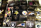 "U Pick 1 NFL Your Team Promark emblem Auto Car truck Decal 3"" Logo Color Chrome"