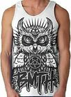 AUTHENTIC BRING ME THE HORIZON BMTH OWL OLIVER SYKES TANK TOP SHIRT S-2XL