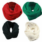 U02 LADIES WINTER WARM SOFT TOUCH SNOOD SCARF WRAP NECK SCARF DESIGNER FASHION