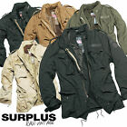 Surplus Raw Vintage Regiment M65 Us Fieldjacket Washed Liner Coat Classic Parka