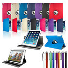 SLIM LEATHER 360 DEGREE ROTATING CASE COVER STAND FOR NEW APPLE iPAD 5 iPAD AIR