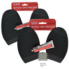 Soltrack Stick On Sole & Glue Anti Slip Soles Repair Kit Shoe Boot Mens Ladies