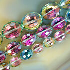 Faceted Rose Quartz Flat Oval Beads 9x12mm 12x16mm 16x20mm