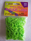 Stretch Band Bracelet Loops 500/Pkg choice/color