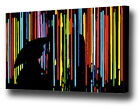 LARGE SINGING IN COLOUR CANVAS PRINT EZ0567