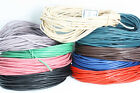 Premium Quality LEATHER cord  Rounded -    Bootlace-  Crafts & Jewelllery UK
